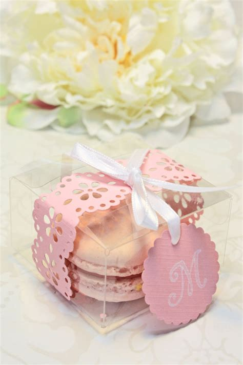 Macaron Baby Shower Favor shower favors macaron favor boxes by indayanibakedgoods