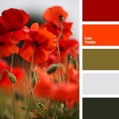 poppy stalks color color palette ideas
