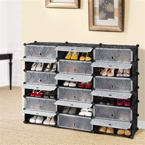 18 Inch Shoe Rack by Save 44 Langria 18 Cube Diy Shoe Rack Versatile Cube