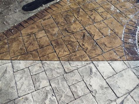 8 best images about Before & After Concrete Staining on