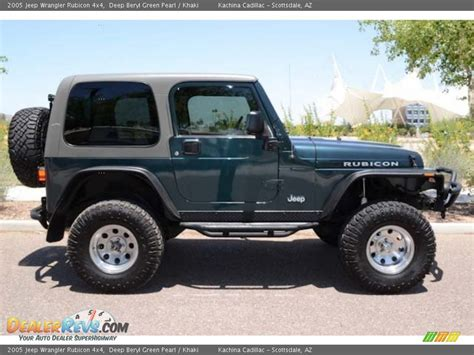 2005 Jeep Wrangler Transmission Problems Beryl Green Pearl 2005 Jeep Wrangler Rubicon 4x4