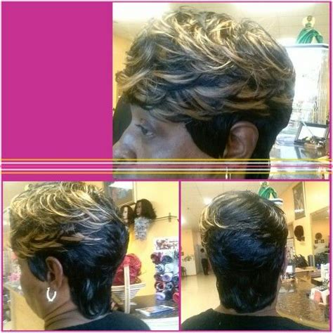 27 hair piece styles by black stylist 27 piece short hairstyles done in a hair salon short