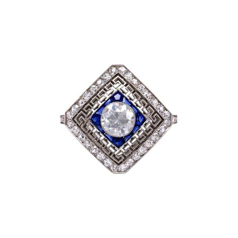 buy deco engagement ring antique engagement rings the edwardian and deco eras