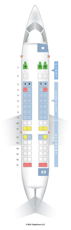 canadair regional jet seating seatguru seat map united bombardier crj 700 v1