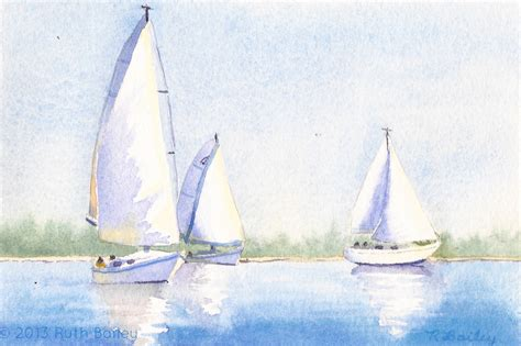 simple sailboat simple watercolor sailboat www pixshark images