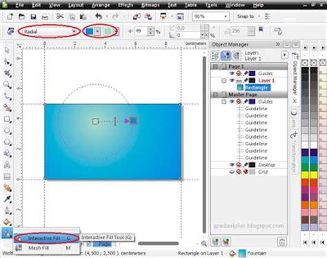 tutorial desain kartu nama corel draw x4 cara membuat desain kartu nama dengan coreldraw x4