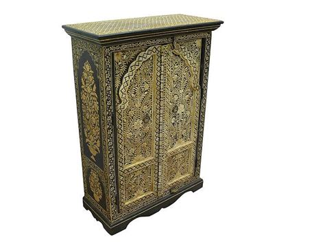 Moroccan Cabinet by Early 20th Century Moroccan Cabinet
