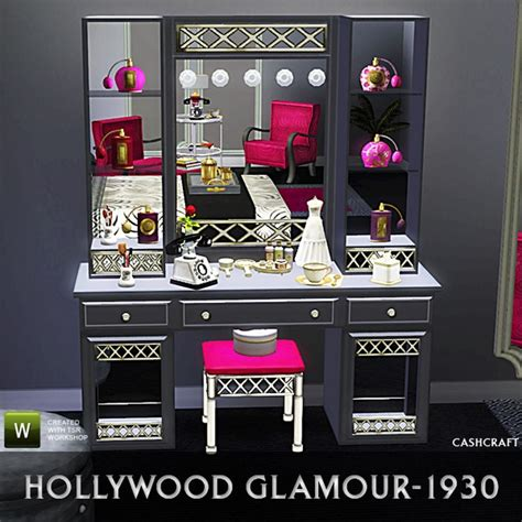 Black Vanities For Bedrooms vanity tables with hollywood style homesfeed