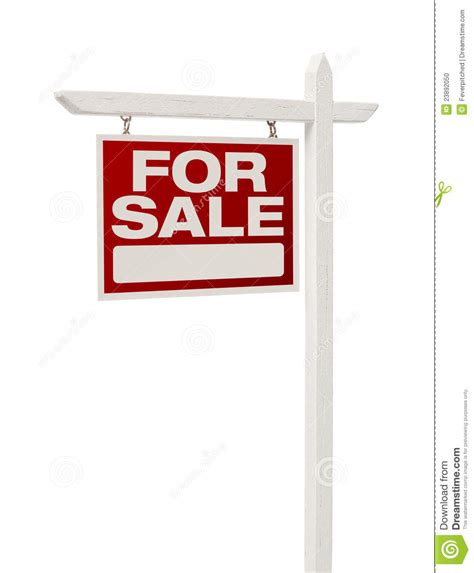 where to buy house for sale signs home for sale real estate sign with clipping path stock