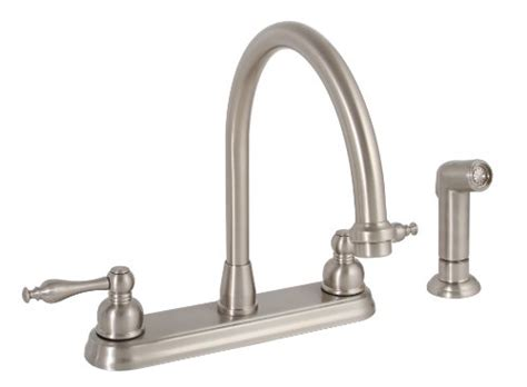 buy kitchen faucets best buy on premier 120163 wellington two handle kitchen