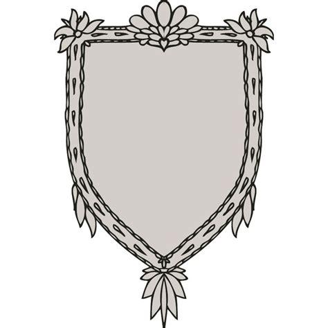cornici floreali gratis cornici floreali vettoriali scudo scarica a vectorportal
