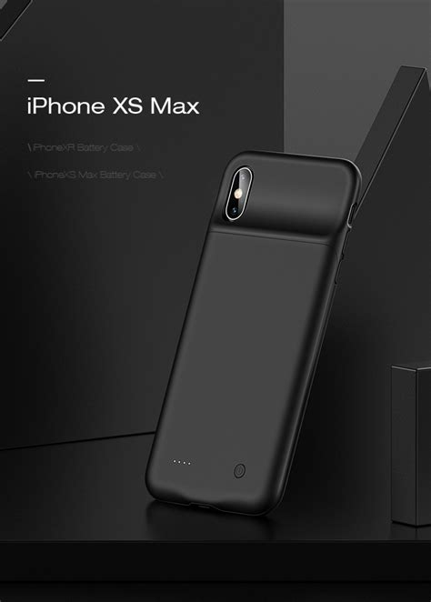 iphone xr xs max battery case