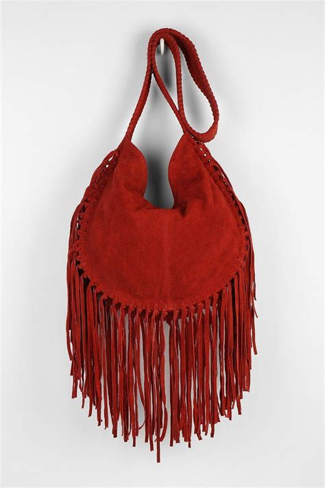 Outfitters Turquoise Suede Bag by Ecote Bettina Suede Fringe Hobo Bag Fashion