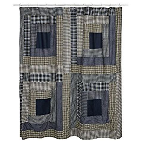 Country Style Shower Curtains Country Style Columbus Blues And Green Cabin Block Shower Curtain 72x72 Co