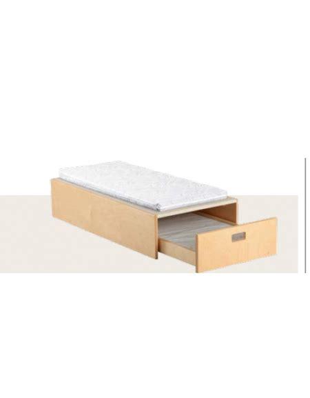 pedana letto pedana con letto a scomparsa 2 posti cm 62x122x26h