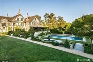 Lavish Bathroom silicon valley mansion with seven bedrooms sells for
