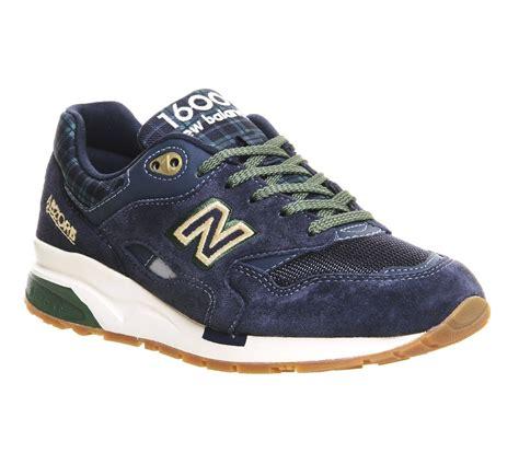 New Balance 1600 new balance 1600 blue green tartan trainers
