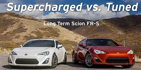 subaru brz vs scion fr s subaru brz supercharger tuned vs supercharged scion fr s