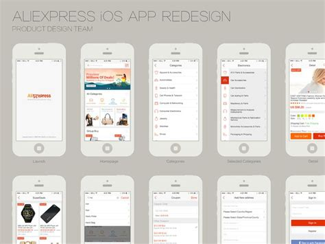 aliexpress bd redesign aliexpress ios app ios ios app and the app