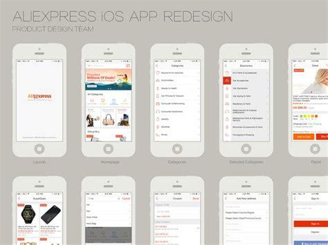 aliexpress app redesign aliexpress ios app ios ios app and the app