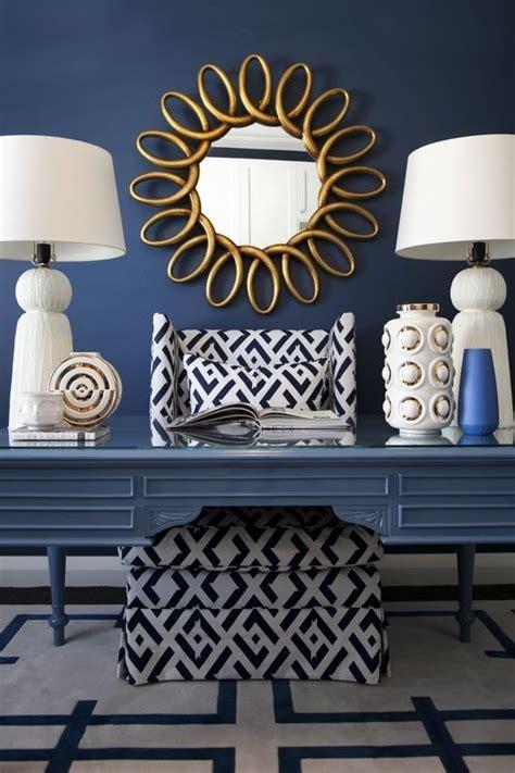 home decorating ideas glamorous navy blue white