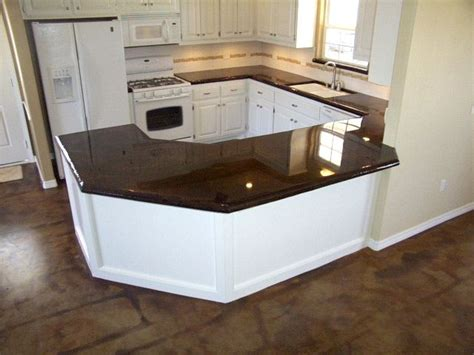 Poured Glass Countertops by Pin By Amanda Boone On Allergic To Home Furnishings