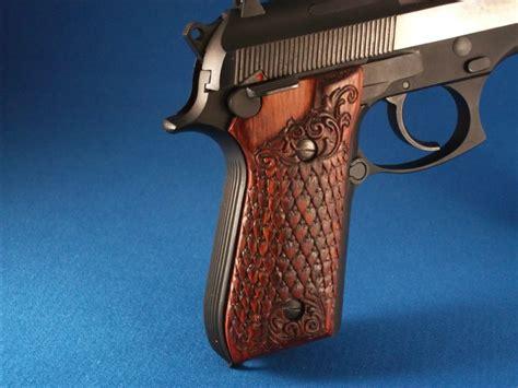Handmade Gun Grips - gunstock and pistol grip carving