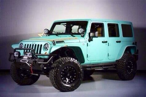 jeep baby blue baby blue jeep wrangler unlimited