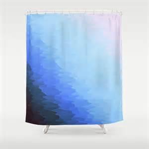 ombre shower curtain blue ombre shower curtain by 2sweet4words designs society6