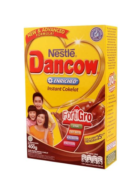 dancow bubuk coklat 400g kliktoserba