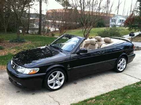 sell used 2003 saab 9 3 se sport package convertible low