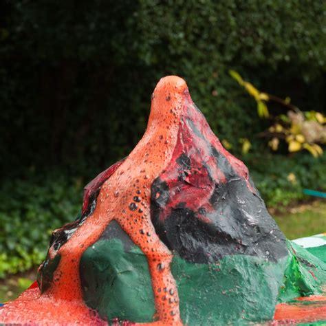 How To Make A Paper Mache Volcano Explode - exploding volcano