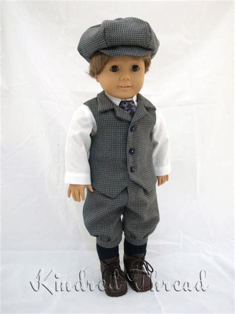 kindred thread boys knicker suit doll clothes pattern