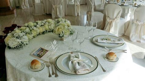 addobbo tavoli matrimonio addobbo floreale per tavolo sposi villa cilento