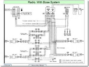 nissan bose stereo wiring diagram 1995 nissan quest radio wiring diagram wiring diagrams