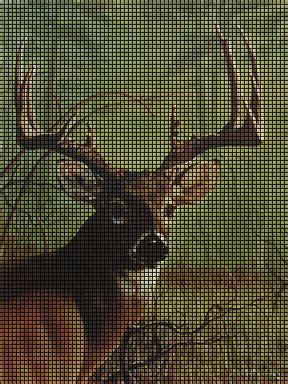 pattern whitetail deer buck whitetail crochet pattern