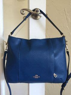 Coach Isabelle Bright Mineral Coaches Blue And Leather On