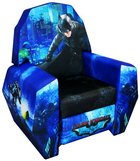 batman recliner chair batman dark knight rises kids recliner chair