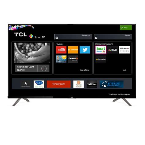 Tv Led Tcl tcl u40s6906 tv 40 led uhd 4k smart wi fi nero