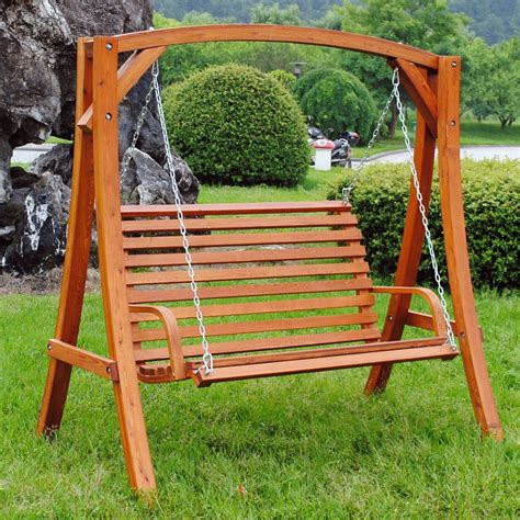 swing seat outdoor furniture fun wooden garden swing seats outdoor furniture