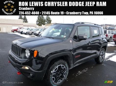 black jeep renegade 2016 black jeep renegade trailhawk 4x4 110115554