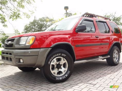 2000 nissan xterra se v6 4x4 in aztec red photo 2 2000 nissan xterra se v6 4x4 in aztec red 528290 jax sports cars cars for sale in florida