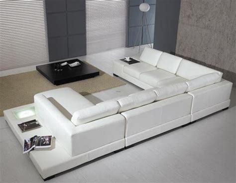 Contemporary Leather Sleeper Sofa Living Rooms With White Leather Sofas Modern White Leather Sofa Living Room White Leather