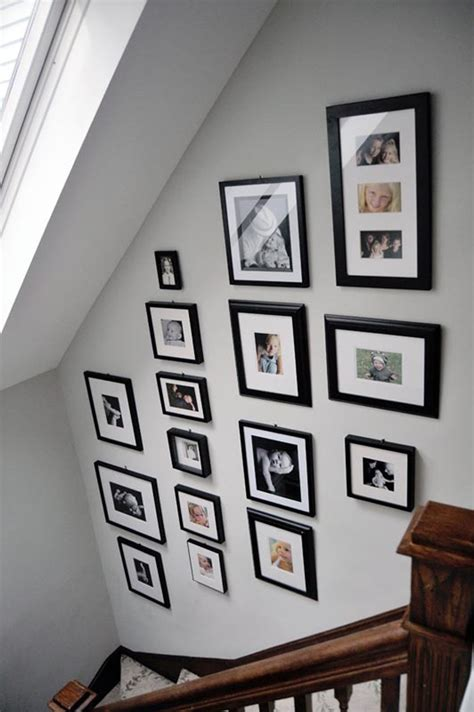 20 love photo wall ideas home design and interior family album in stairway