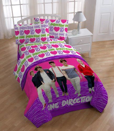 One Direction Comforter Set by Kiddohome Shop For Home Collection