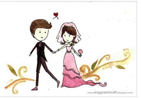 desain kartu ucapan happy wedding anggraini craft daily postcard day 67 happy wedding