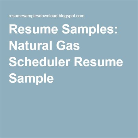 Gas Scheduler by 28 Best Resume Sles Images On Sle Html Best Resume And Sales Resume