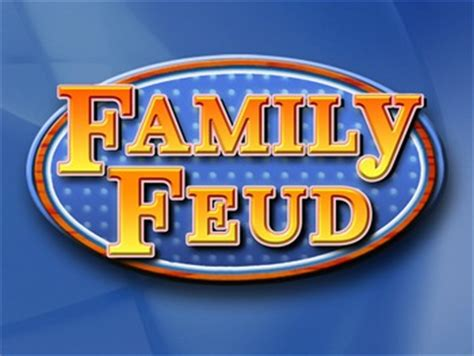 Family Feud Excellent Quality Powerpoint Template Mac Pc By Think Games Family Feud Mac