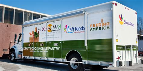 Mobile Food Pantry Truck by Food Bank Combats Hunger With New Mobile Food Pantry