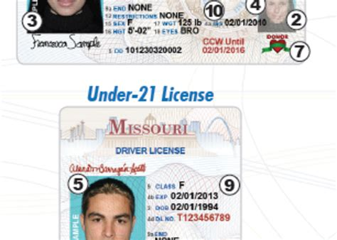 drivers license missouri department of revenue pdf library